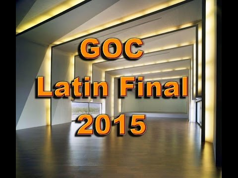 WDSF Latin Final German Open Championship 2015