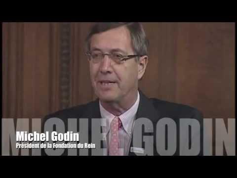 Le Pr Michel Godin présente la Fondation du Rein au public
