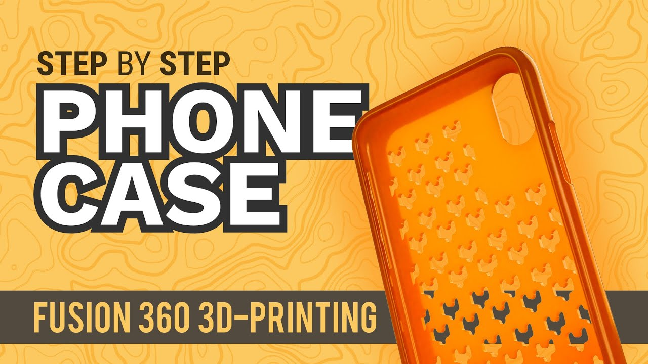 How to 3D Model an iPhone X Phone Case - Learn Autodesk Fusion 360 in 30  Days: Day #10