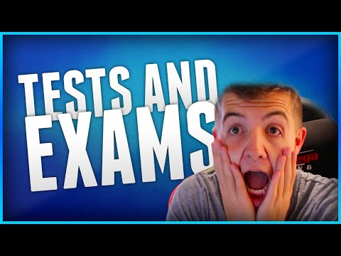 WHY I HATE EXAMS!