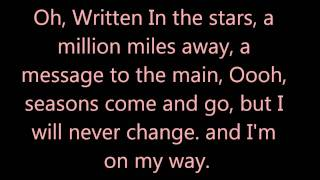 Written In the Stars ,Clean, lyrics