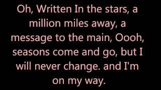 Written In the Stars ,Clean, lyrics