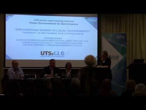 UTS:CLG Seminar Series: Building genuine partnerships for major urban transformation