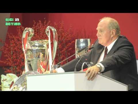 """Uli Hoeneß """"Ich habe einen großen Fehler gemacht"""" @ JHV 2013 des FC Bayern München"""