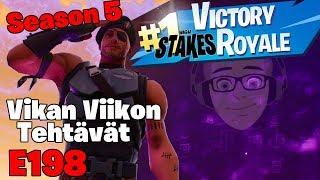 Season 5 VVV - Vikan Viikon Viikkotehtävät 👓 LIVE 🔴 Fortnite Getaway 🐔 BR E198 🎱 w/ Viewers