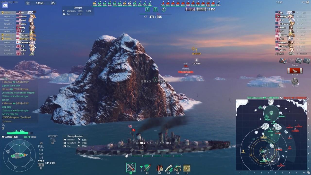 world of warships funtage  12 epic cancer cv