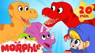 MILA AT THE DINOSAUR PARK! My Magic Pet Morphle   Cartoons For Kids   Morphle TV   BRAND NEW