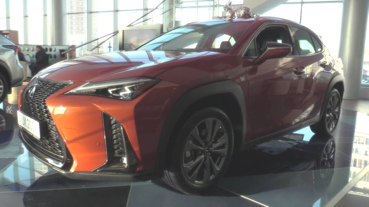 2019 Lexus UX 200 F-Sport. Engine and In Depth Tour.