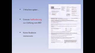 Umgang mit GMX TopMail Abzocke/Rechnung/Mahnung