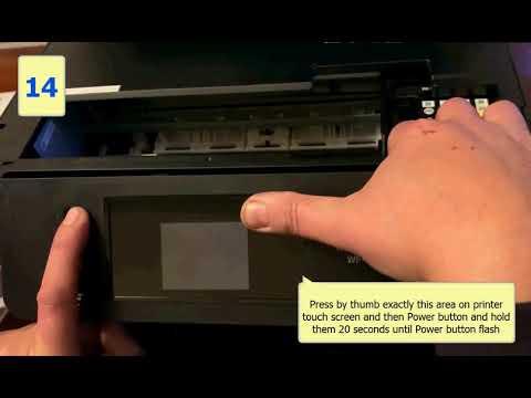 Epson WF-3720 firmware update mode - Chipless Firmware