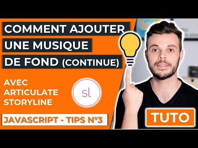 Comment ajouter une musique de fond (arrière-plan) avec Articulate Storyline et du JavaScript