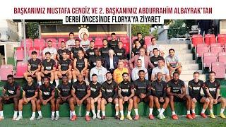 Başkanımız Mustafa Cengiz ve 2. Başkanımız Abdurrahim Albayrak'tan derbi öncesinde Florya'ya ziyaret