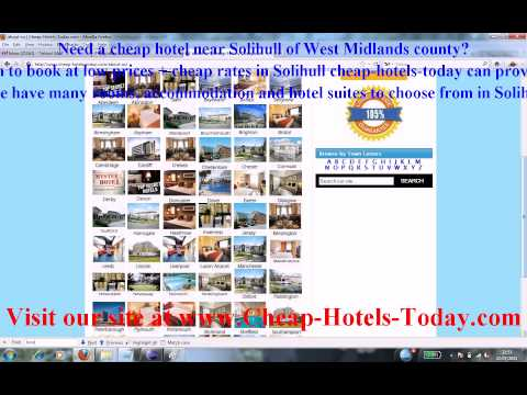 Late Rooms Solihull And Last Minute Hotels Solihull