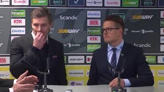 SaiPa-KalPa  -lehdistötilaisuus 19.1.2018