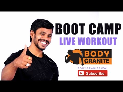 Burn Fat Fast – Boot Camp Live Workout – Weight loss Magic fast Workout