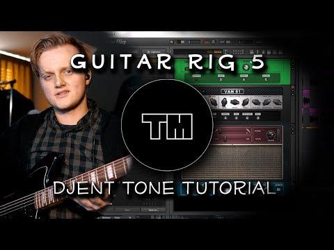 Guitar Rig 5 Djent Tone Tutorial! - Tim Murray