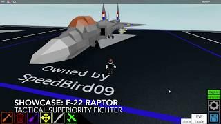 Roblox showcase: F-22 Raptor
