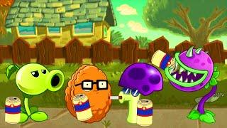 Plants vs Zombies 2 PC Gameplay - Team plants vs zombies!