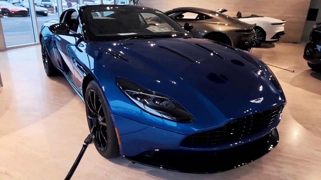New 2019 Db11 Amr Coupe At Aston Martin Glenview Youtube