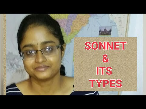SONNET (SHAKESPEAREAN & PETRARCHAN)(EXPLAINED IN HINDI WITH NOTES IN ENGLISH)