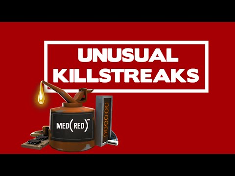 MedRed's TF2 Musical Montage Of Loadouts & Killstreak Effects