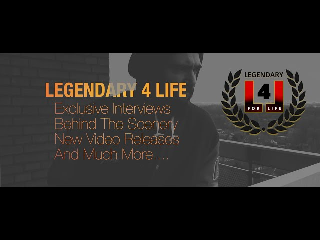 LEGENDARY 4 LIFE - NEW PLATFORM #HIPHOPLEGENDS (S1 - PITCH - INTRODUCTION)