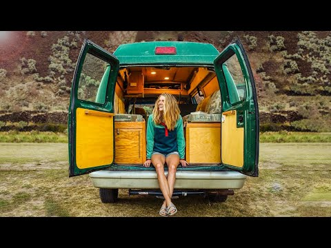 Solo Female Traveler Works and Lives on the Road   VAN TOUR