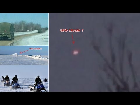 UFO Crash Filmed in Manitoba CANADA by Witness!