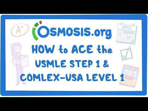 Osmosis - Score high on the USMLE Step 1 and COMLEX-USA Level 1