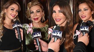 نجمات لبنانيات في وجه سرطان الثدي