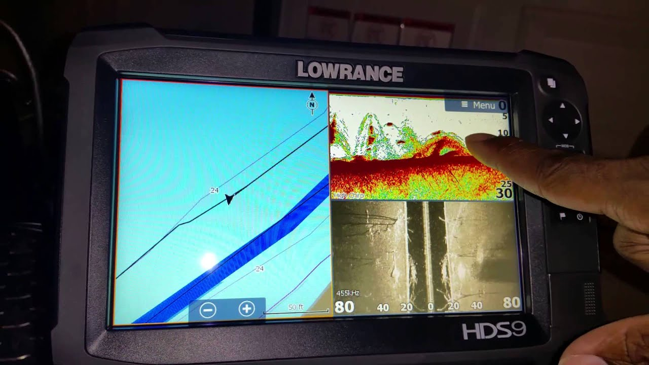 how to find fish on lowrance hds 9