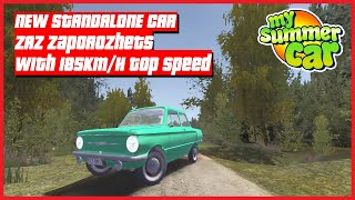 My Summer Car - NEW STANDALONE CAR ZAZ Zaporozhets With 185KM/H Top Speed 2021 ! | Ogygia Vlogs🇺🇸