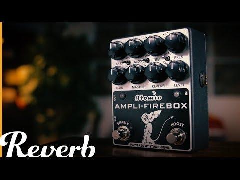 Atomic Ampli-Firebox Powered by StudioDevil   Reverb Demo