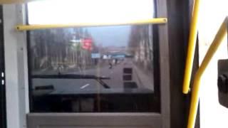 Автоинформатор, маршрут №73А, автобус(Остановки на английском Донецк, Украина., 2012-04-15T13:50:48.000Z)