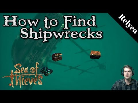 Sea of Thieves How to Find Shipwrecks for Extra Chests, Skulls and Tea Crates