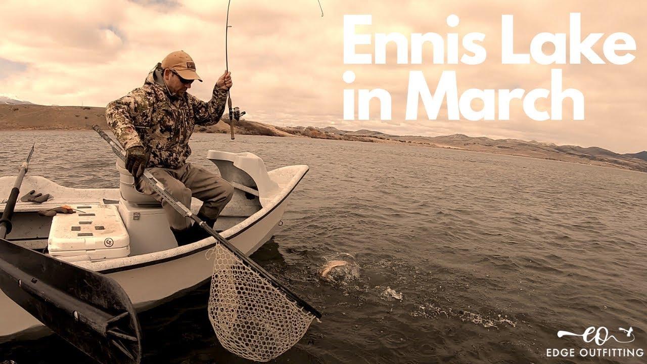 Fly vs Spinner: Ennis Lake in Spring
