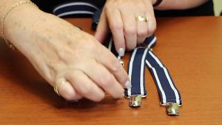 How To: Make Adjustable Suspenders