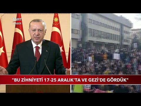 Cumhurbaşkanı Erdoğan'dan Boğaziçi Tepkisi