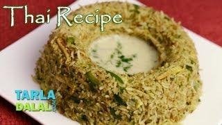Thai Fried Rice By Tarla Dalal