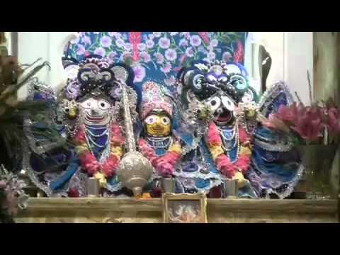 Niranjana Swami - Damodarastaka Prayer - 11/12/2008