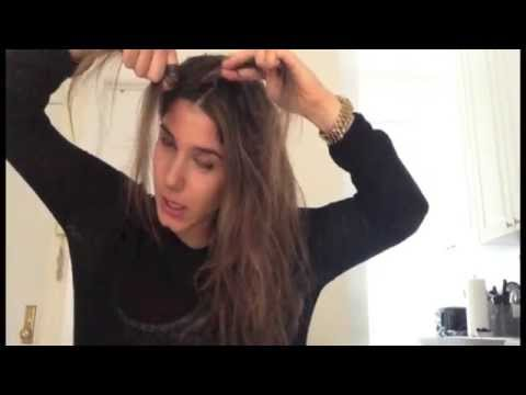 Side French Braid On Dirty Hair Xovain Youtube