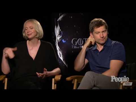 Nikolaj CosterWaldau thinks Brienne is Egging Tormund On