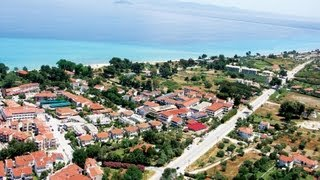 Hanioti - Chaniotis, Χανιώτης, Chalkidiki, Greece(Country: Greece Region: Central Macedonia Regional unit: Chalkidiki Municipality: Kassandra Municipal unit: Pallini Population: 948., 2013-04-16T22:28:28.000Z)