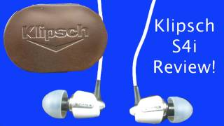 Video Klipsch S4i Review - My New Favorite Earbuds! {FutureInventions} download MP3, 3GP, MP4, WEBM, AVI, FLV Juli 2018