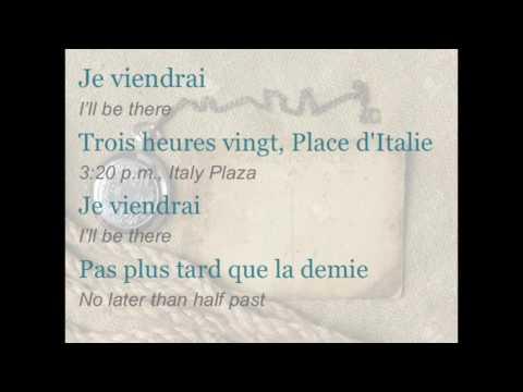 """Céline Dion - """"Trois heures vingt"""" (ENGLISH TRANSLATION)"""