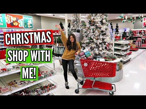 TARGET CHRISTMAS DECOR SHOP WITH ME 2019!