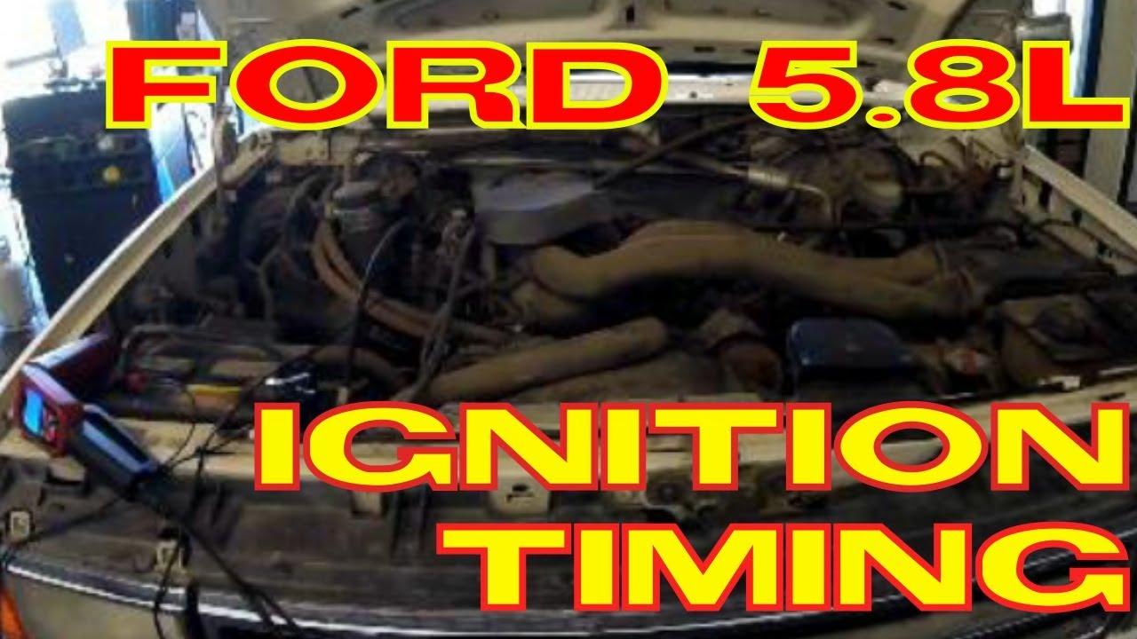 ford 5 8l 5 0l windsor ignition timing [ 1280 x 720 Pixel ]