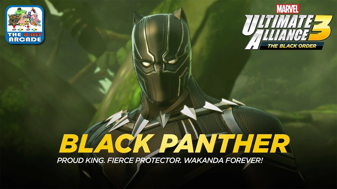 Marvel Ultimate Alliance 3 - Proud King  Fierce Protector  Wakanda Forever!  (Switch Gameplay)