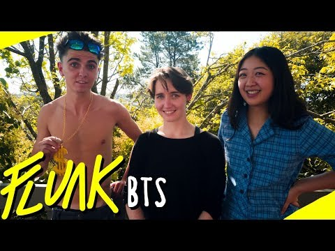 Working It With Jess, Kelsie & Caylen - FLUNK LGBT Series - Behind The Scenes