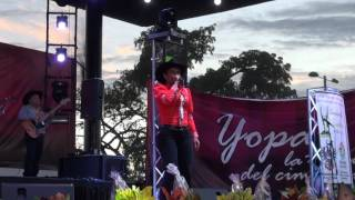 VIRGINIA ROCHA CIMARRON DE ORO 2015 YOPAL CASANARE